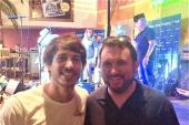 Morgan Evans Hangs In Nashville During CMA Fest