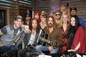 Steven Tyler Visits 'Ty, Kelly & Chuck'