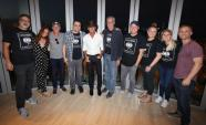 Tim McGraw Hangs With Sony Music Nashville Family