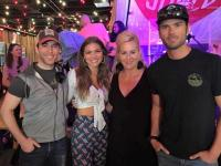 Abby Anderson Hangs With 'Ty, Kelly & Chuck' During CMA Fest