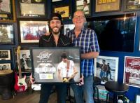 Chris Janson Goes Double Platinum With 'Buy Me A Boat'