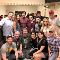Dan + Shay Catch Up With Country Radio Friends