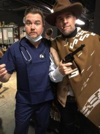 Eli Young Band's Mike Eli Doctors Up For Halloween