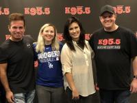 Jessica Meuse Stops By KWEN/Tulsa