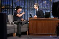 Kenny Chesney Appears On 'Late Night With Seth Meyers'