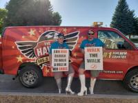 KTHK/Idaho Falls, ID Walks A Mile In Her Shoes