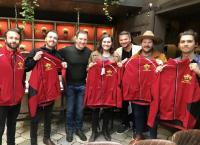 KKGO/Los Angeles Gifts Guest Hosting Jackets To LANCO