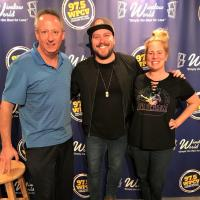 Mitchell Tenpenny Hangs At WPCV/Lakeland, FL