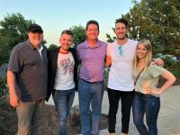 Russell Dickerson Kicks It With KJKE/Oklahoma City