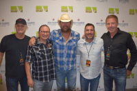 Toby Keith Hangs With Radio Friends In Palm Springs