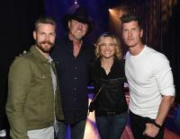 Trace Adkins Hosts Successful 'Jammin' To Beat The Blues'