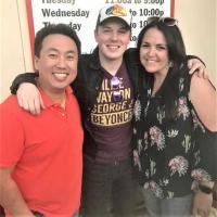 Travis Denning Visits KKBQ/Houston