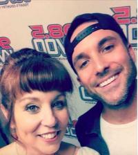 Tyler Rich Stops By KVOO/Tulsa
