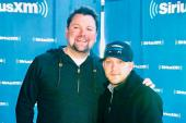 Justin Moore Hangs Out With SiriusXM