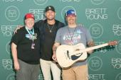 KTHK/Idaho Falls Staffers 'Catch' Up With Brett Young