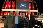 Del McCoury And Lee Greenwood Hang With WSM-A/Nashville