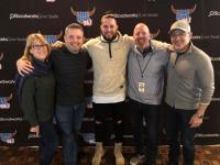 Filmore Visits Radio Friends At KUPL/Portland