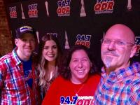 Tenille Arts Visits WQDR/Raleigh