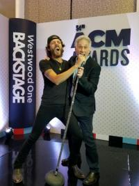 Janson 'Cooks' Up Some Fun Backstage At ACM Awards