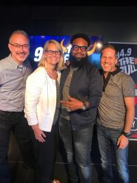 Blanco Brown Dances His Way To iHeartMedia In Atlanta