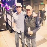 Aaron Watson And George Strait Catch Up At Texas Inaugural Ball
