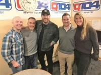 Chris Young Visits With KBEQ/Kansas City