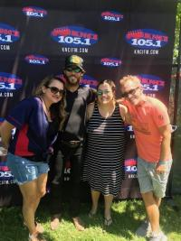 Chris Janson Poses With KNCI/Sacramento