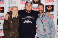 Luke Combs Gives WYRK/Buffalo, NY A Taste Of Country
