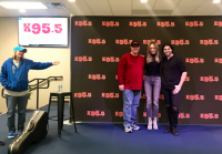 Haley & Michaels Caught Up With KWEN/Tulsa