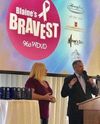 WDVD's Blaine & Lauren Salute Cancer Survivors