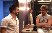 Bennett Goes Backstage With Charlie Puth