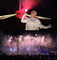 Katy Perry Performs At 'Celebrate America' Inauguration Concert