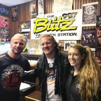 Chris Jericho Wrestles with WRKZ's Loper & Randi