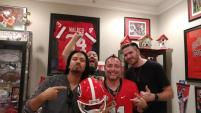 Pop Evil Visits WXNX/Ft Myers' Roach Georgia Bulldogs Shrine Room!!