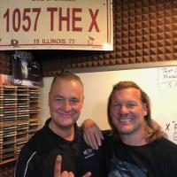 Chris Jericho Wrestles With WIXO In Peoria, IL