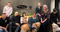 WDRV/Chicago's Sherman & Tingle Raise $83,000 For Veterans Service Animals