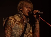 Machine Gun Kelly Literally Rocked The Roxy - Virtually