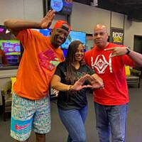 KBFB/Dallas PD Bink Turner Hanging With RIckey Smiley