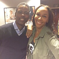 Chris Rock & K104's DeDe In The Morning's  DeDe McGuire